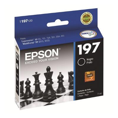 Epson 197 - Cartucho Negro