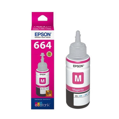 Epson T6643 - Botella magenta L200