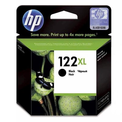 HP 122XL - Cartucho Negro