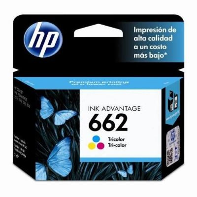 HP 662 - Cartucho Color