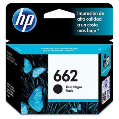 HP 662 - Cartucho Negro