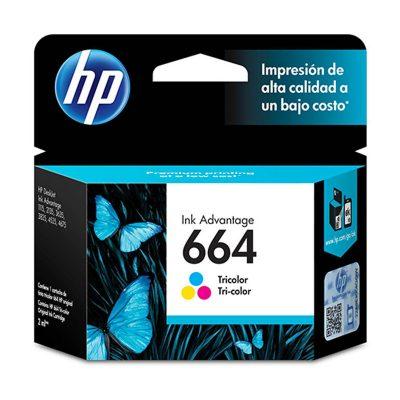 HP 664 - Cartucho Color
