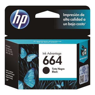 HP 664 - Cartucho Negro HP Deskjet Ink Advantage