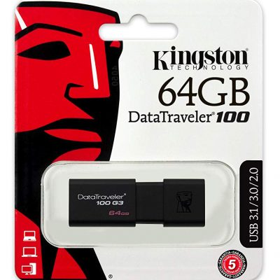 Memoria USB 3.0 64GB Kingston DT100