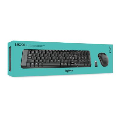 Logitech MK220 Inalámbrico Teclado+Mouse