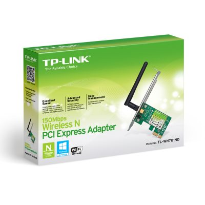 Tarjeta de Red PCIe Inalámbrico TP-LINK