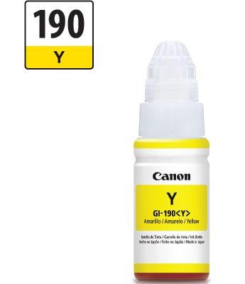 Canon Gi-190 - Botella Amarillo