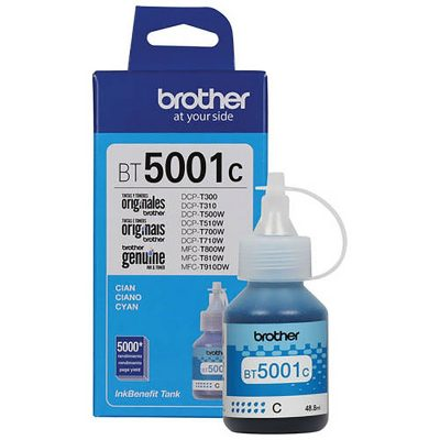 Brother BT5001C - Botella de tinta cyan