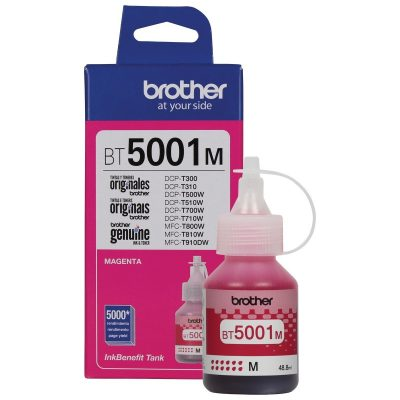 Brother BT5001M - Botella de tinta magenta