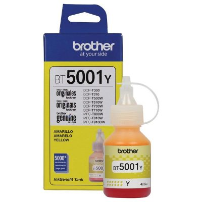 Brother BT5001Y - Botella de tinta amarillo