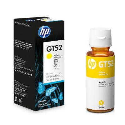 HP GT52 - Botella de Tinta Amarillo