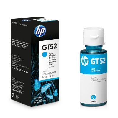 HP GT52 - Botella de Tinta Cyan