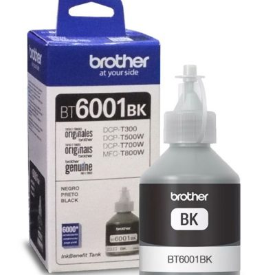Brother BT6001Bk - Botella de tinta negra