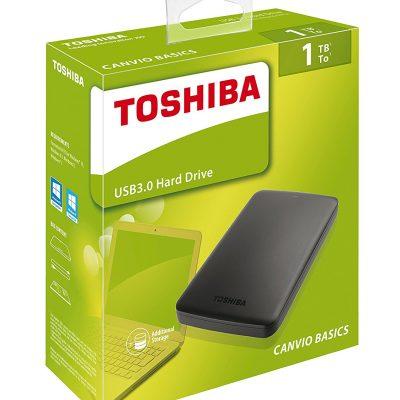 Toshiba Disco Duro Externo 1TB USB 3.0