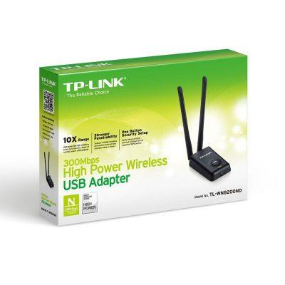 Adaptador USB Inalámbrico TP-LINK 300mbps