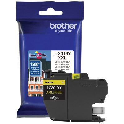 Brother LC3019Y - Cartucho de tinta Amarillo