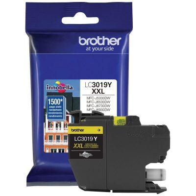 Brother LC3019Y - Cartucho de tinta Amarillo